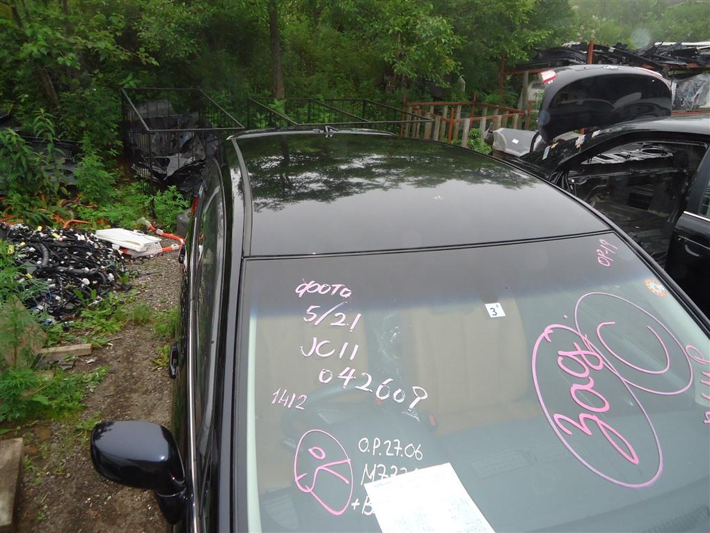 Крыша Nissan Tiida JC11 MR18DE 2009 черный b20 1412