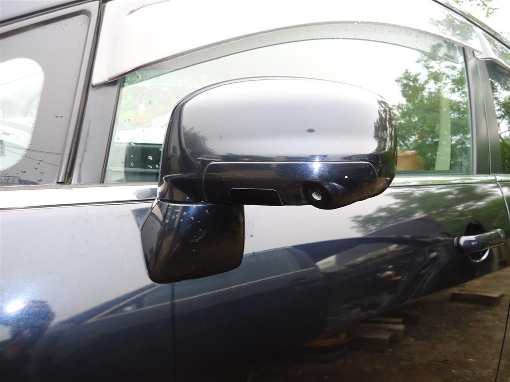 Зеркало Nissan Tiida JC11 MR18DE 2009 левое черный b20 1412 13 контактов