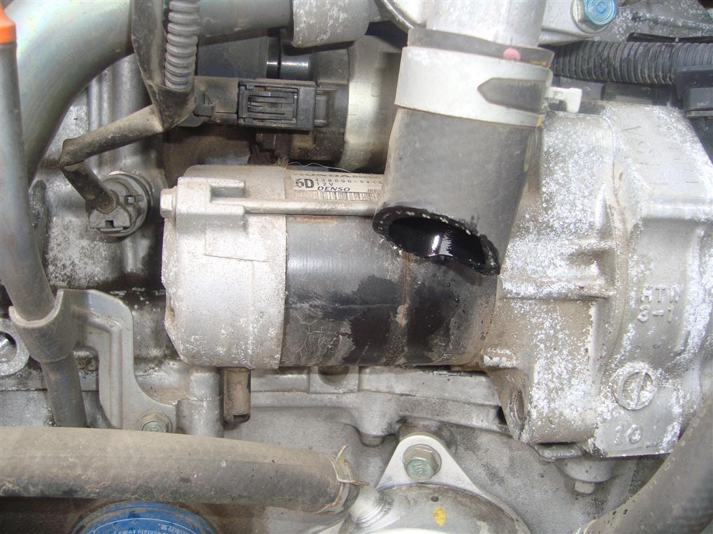 Стартер Honda Fit GE8 L15A 2011 1409