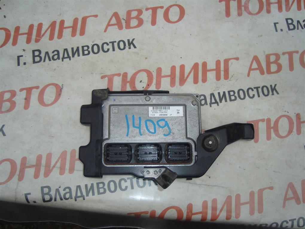 Блок управления efi Honda Fit GE8 L15A 2011 37820-rb1-j71 1409 37820-rb1-j71