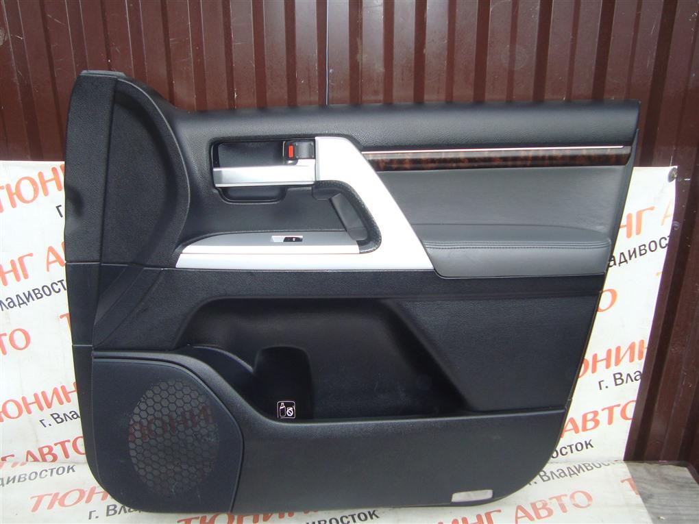 Обшивка дверей Toyota Land Cruiser VDJ200 1VD-FTV 2008 передняя правая 1418