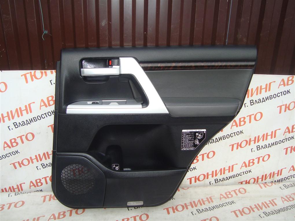 Обшивка дверей Toyota Land Cruiser VDJ200 1VD-FTV 2008 задняя правая 1418