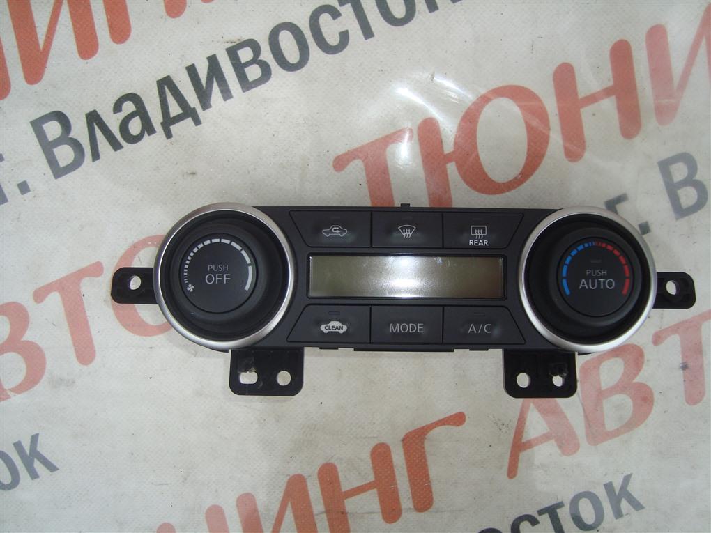 Климат-контроль Nissan Tiida JC11 MR18DE 2009 27500 1jy1a 1412