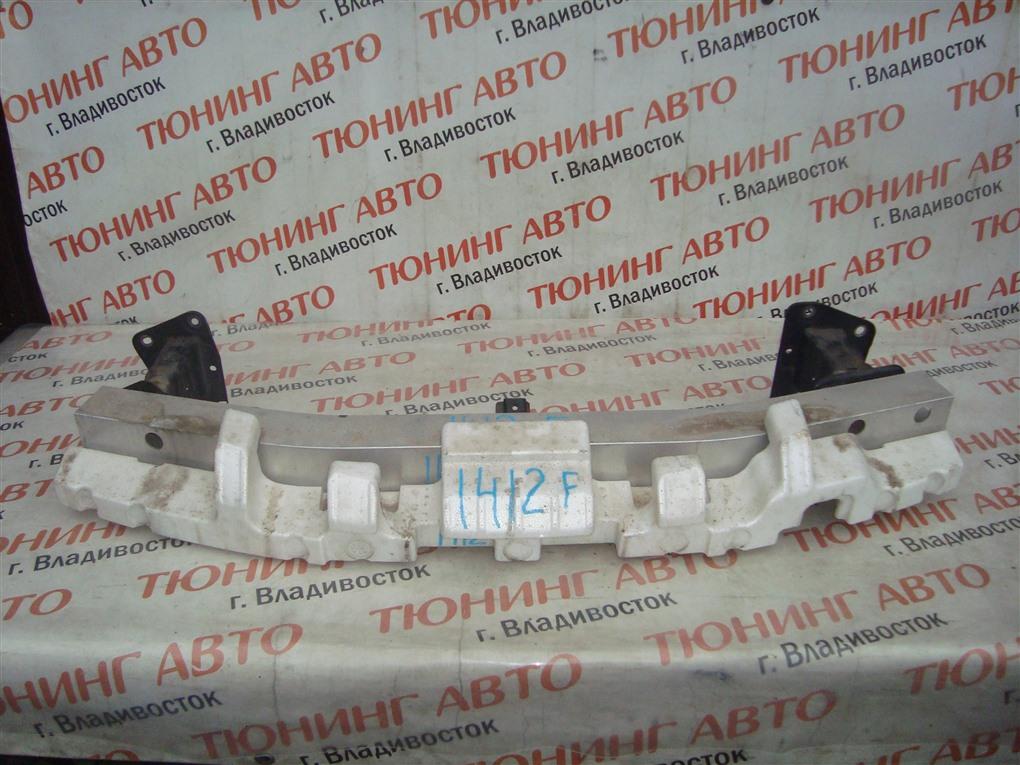 Жесткость бампера Nissan Tiida JC11 MR18DE 2009 передний черный b20 1412