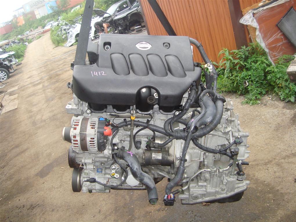 Двигатель Nissan Tiida JC11 MR18DE 2009 1412