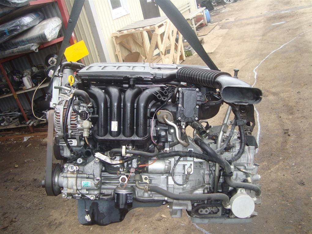 Двигатель Mazda Demio DE5FS ZY-VE 2007 1414