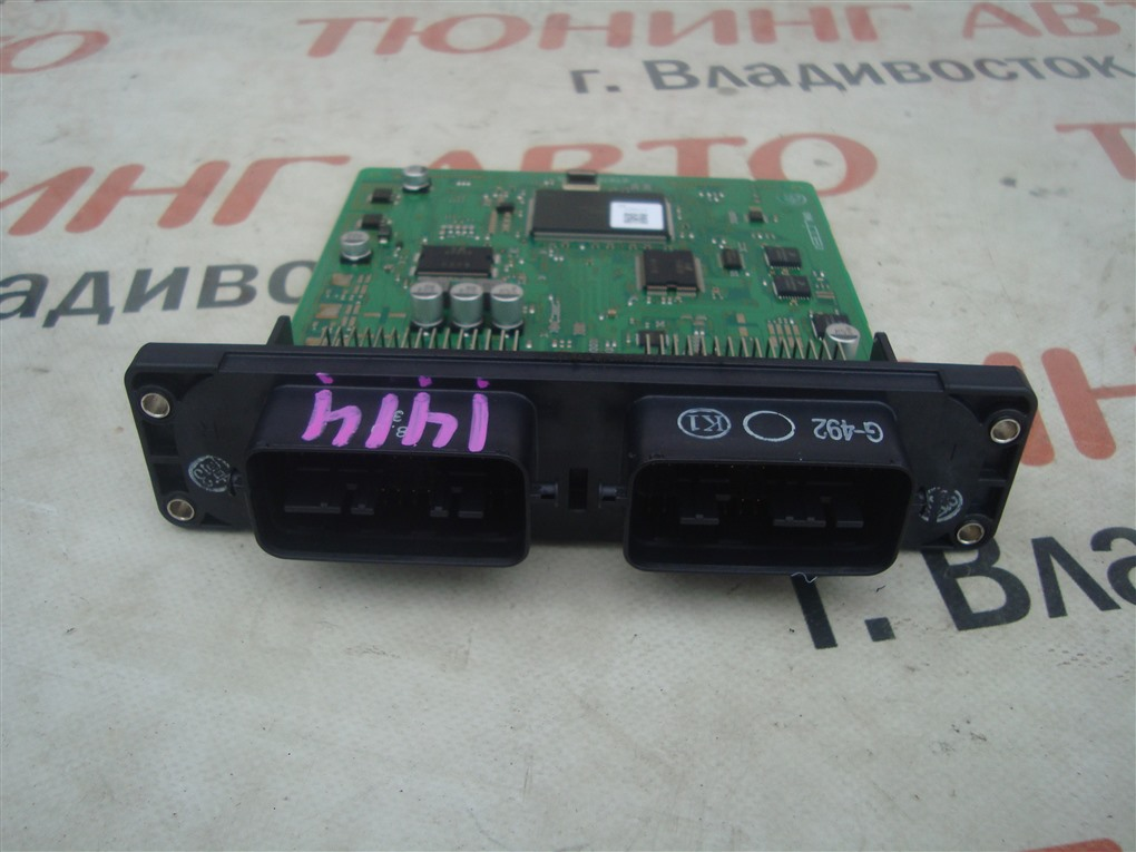 Блок управления efi Mazda Demio DE5FS ZY-VE 2007 1414