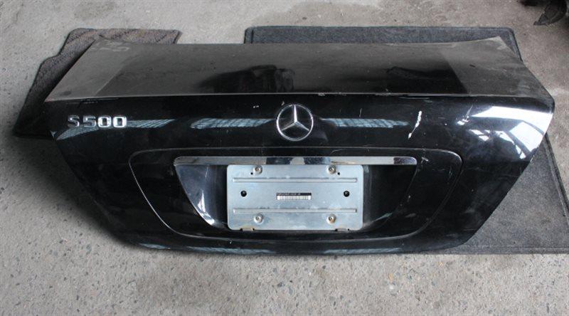 Крышка багажника Mercedes-Benz S500 WDB220