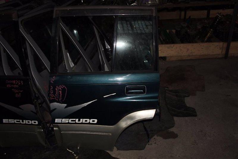 Дверь Suzuki Escudo TD61W задняя левая