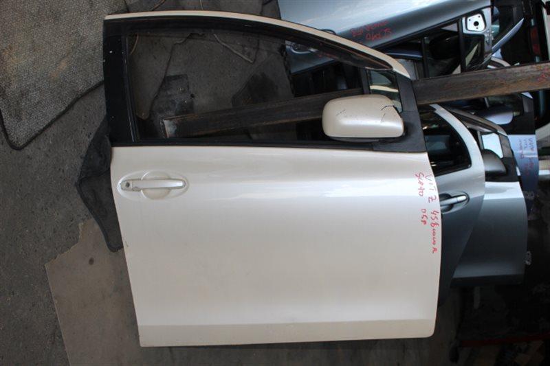 Дверь Toyota Vitz SCP90 передняя правая