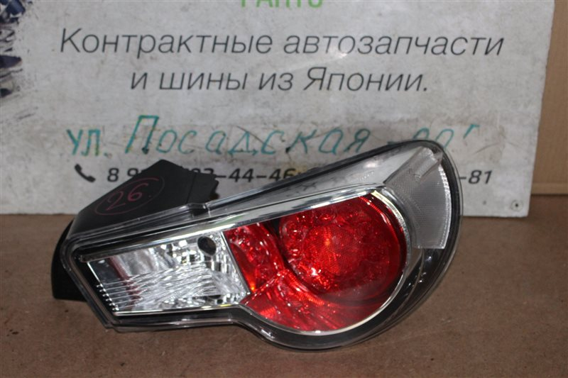 Стоп-сигнал Toyota Gt86 ZN6 задний правый