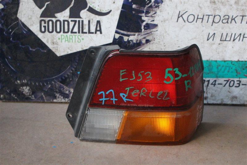 Стоп-сигнал Toyota Tercel EJ53 задний правый