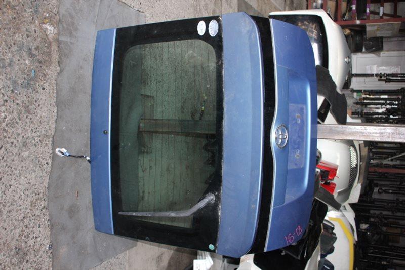 Крышка багажника Toyota Prius NHW20 1NZFXE