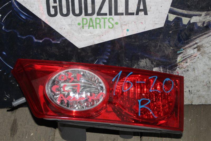 Стоп-вставка Honda Accord CL7 задняя правая