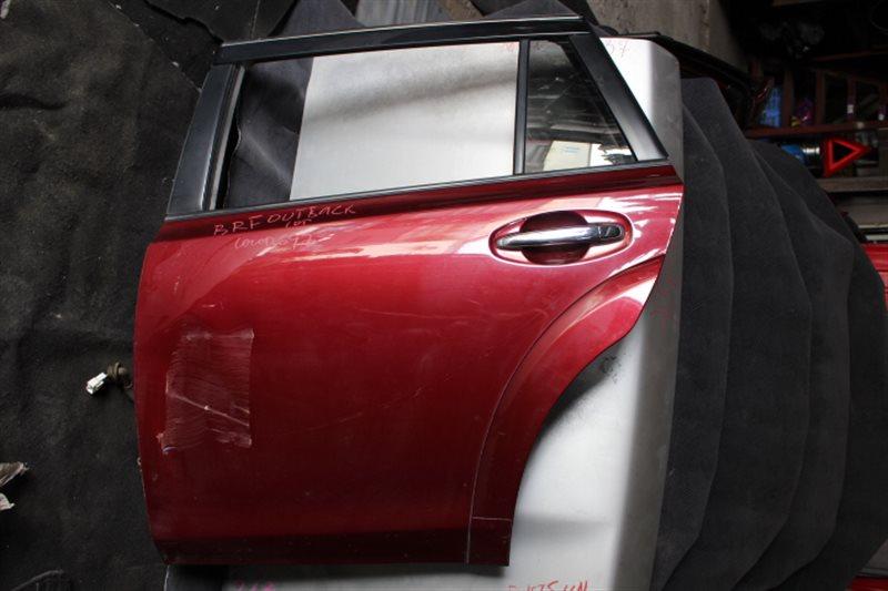 Дверь Subaru Outback BRF 2010 задняя левая