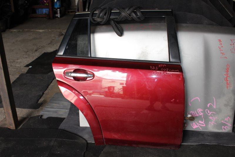 Дверь Subaru Outback BRF 2010 задняя правая