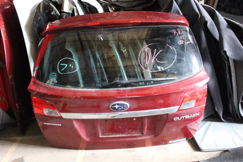 Дверь задняя Subaru Outback BRF 2010