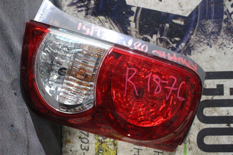Стоп-сигнал Toyota Corolla Rumion NZE151 задний правый