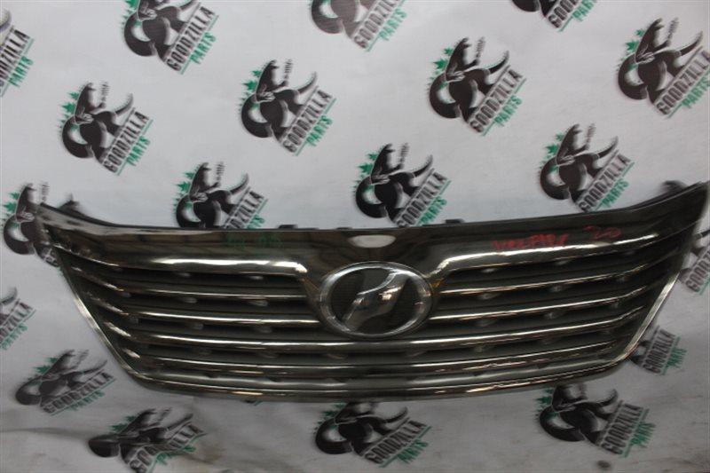 Решетка радиатора Toyota Vellfire ANH20 передняя