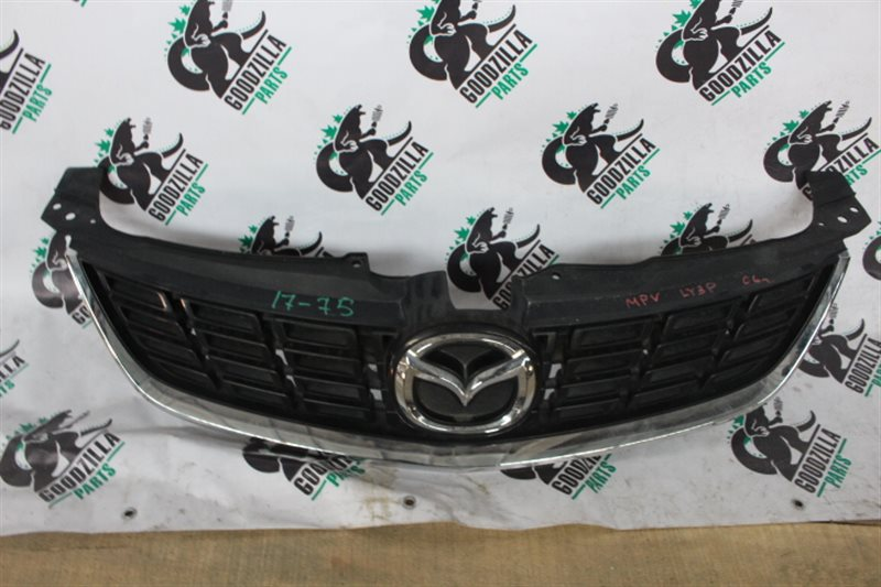 Решетка бамперная Mazda Mpv LY3P передняя