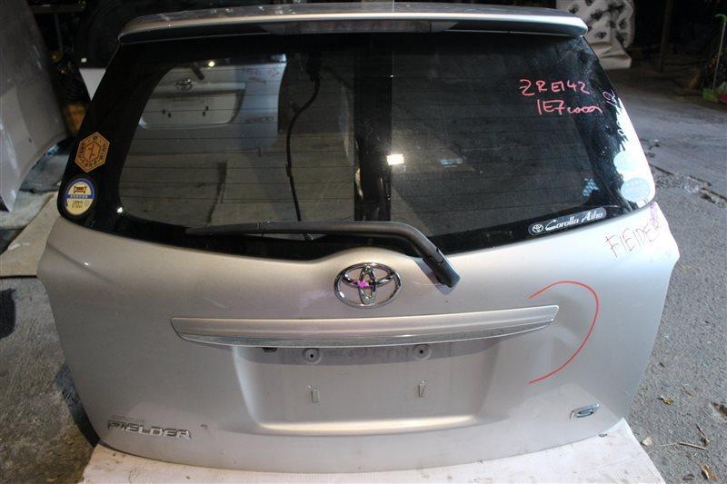 Дверь задняя Toyota Corolla Fielder ZRE142 задняя