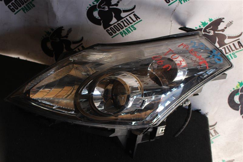 Фара Nissan Presage TU31 2006 передняя левая
