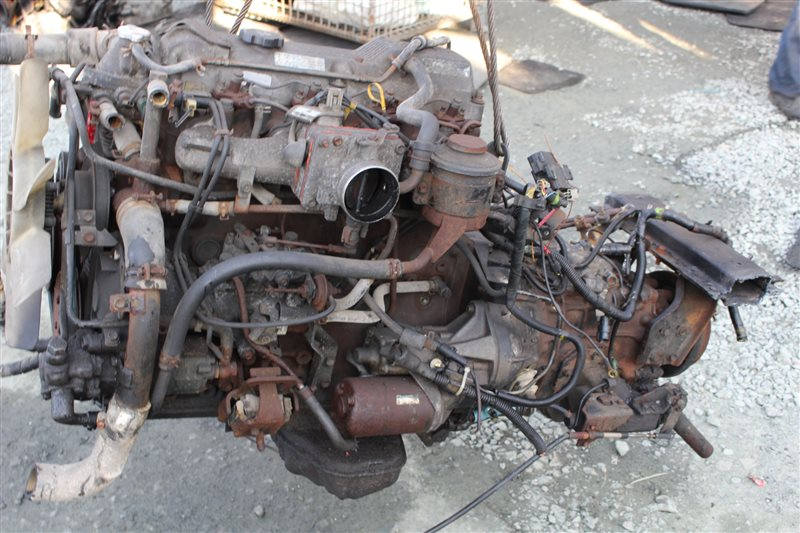 Мкпп Toyota Dyna BU66 14B 1989