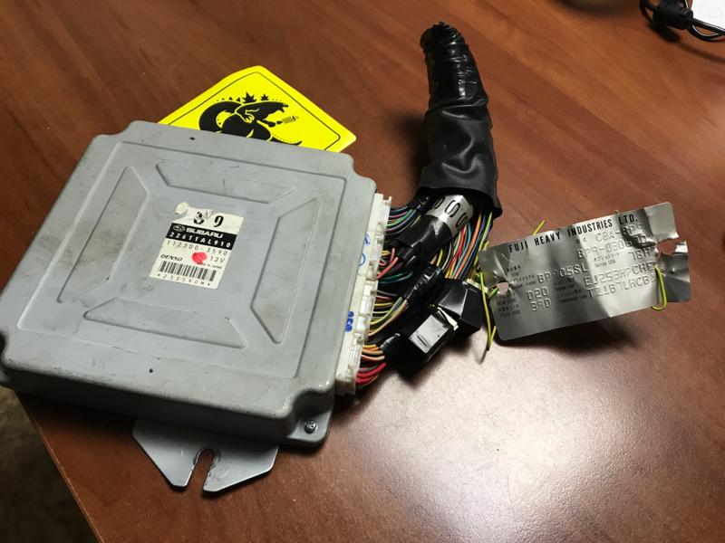 Блок управления efi Subaru Legacy BP9 EJ253