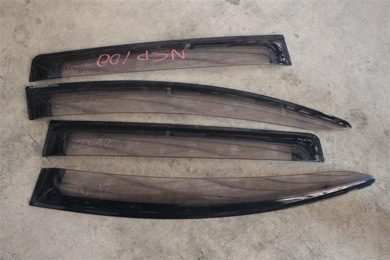 Ветровики комплект Toyota Ractis NCP100