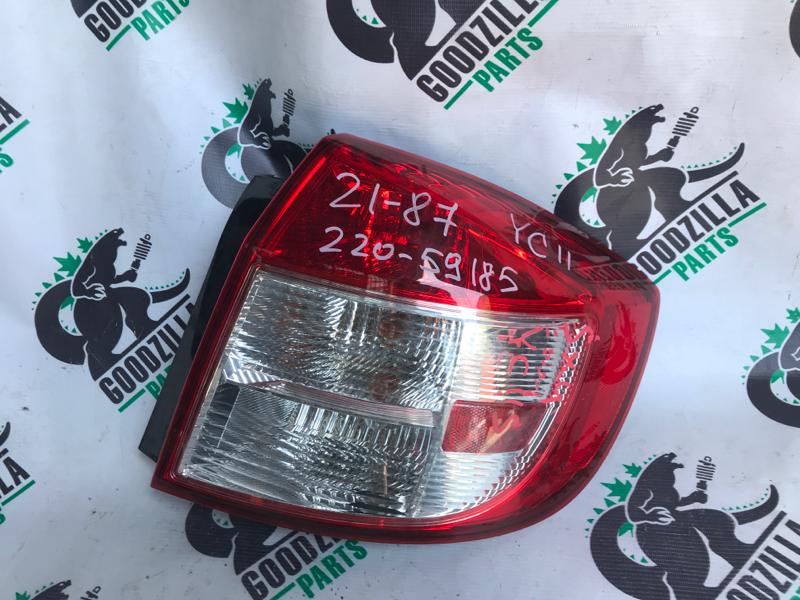 Стоп-сигнал Suzuki Sx4 YC11S задний правый