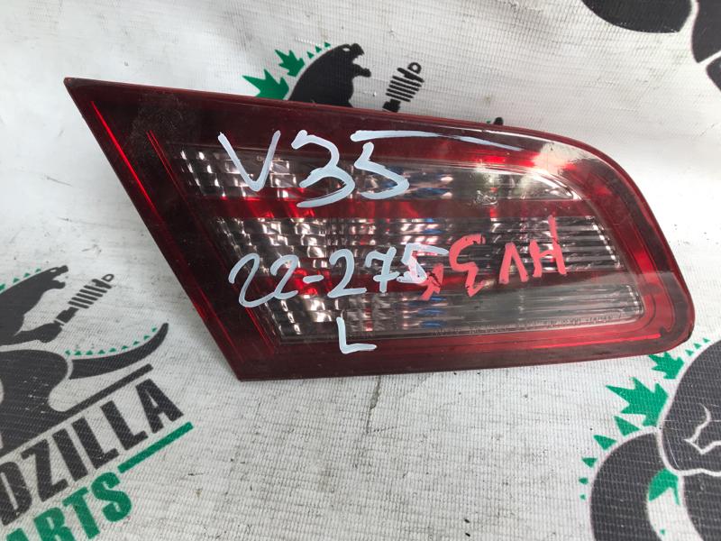 Стоп-вставка Nissan Skyline V35 задняя левая