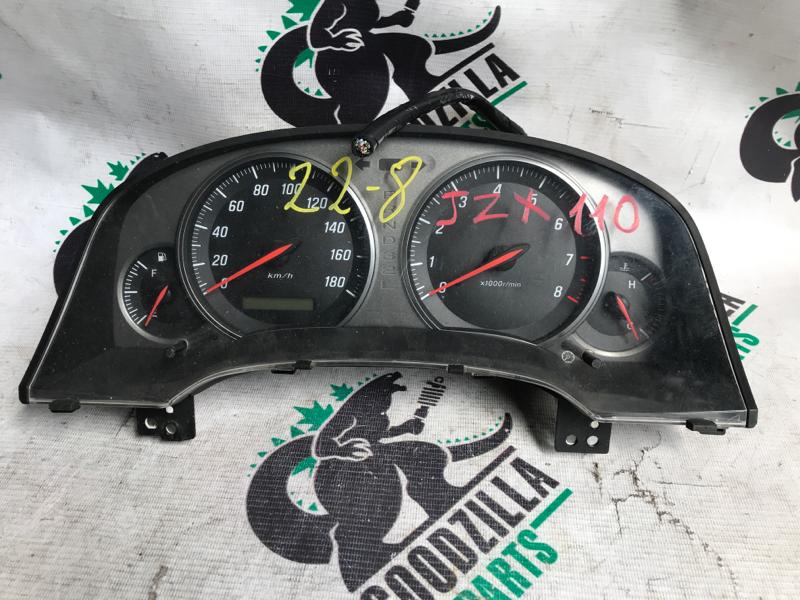 Спидометр Toyota Mark Ii JZX110 1JZ передний