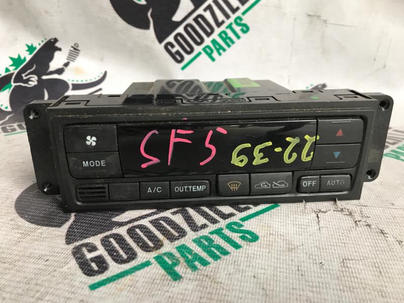 Блок управления климат-контролем Subaru Forester SF5 передний
