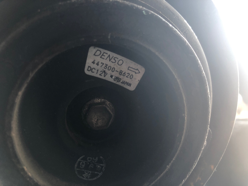Компрессор кондиционера Mazda Mpv LW5W