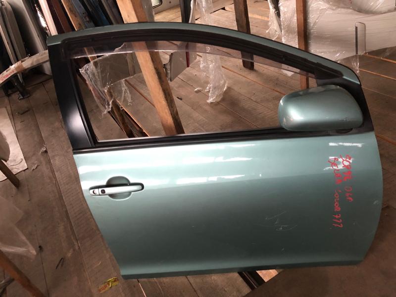 Дверь Toyota Belta SCP92 2SZFE передняя правая