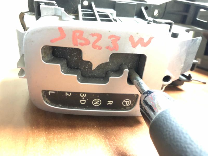 Селектор акпп Suzuki Jimny JB23W K6A
