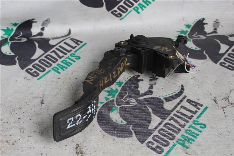 Педаль газа Nissan Note E12 HR12DDR