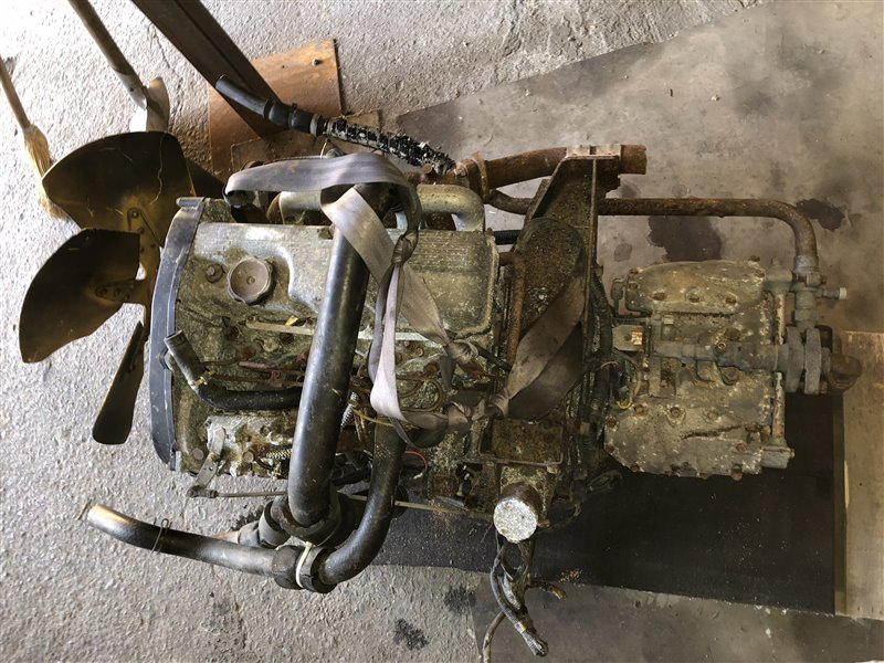 Двигатель Mitsubishi 4D68