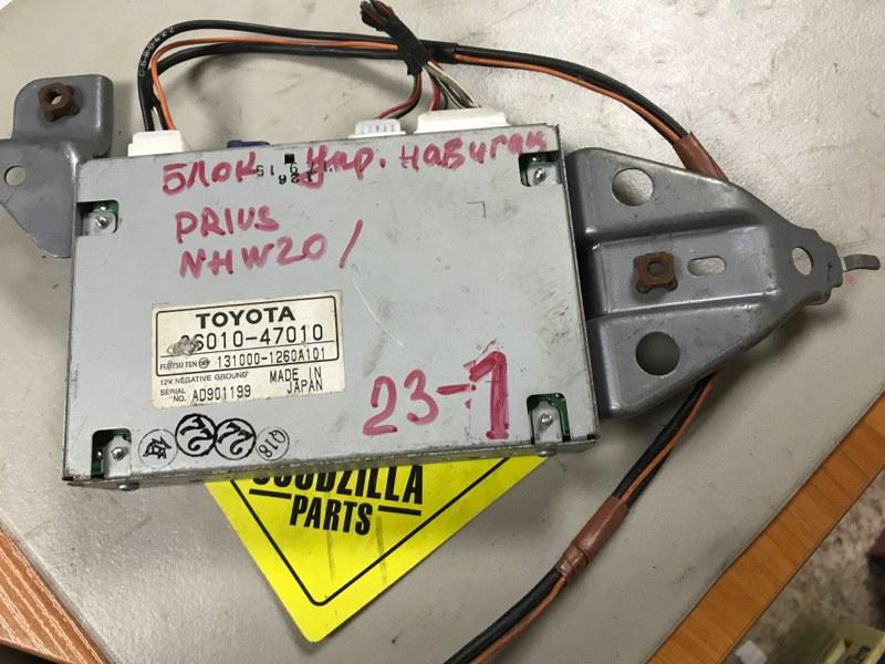 Блок навигации Toyota Prius NHW20 1NZFXE
