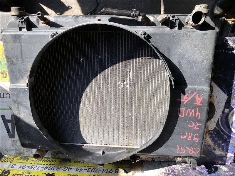 Радиатор основной Toyota Noah CR51 2C 1998 передний