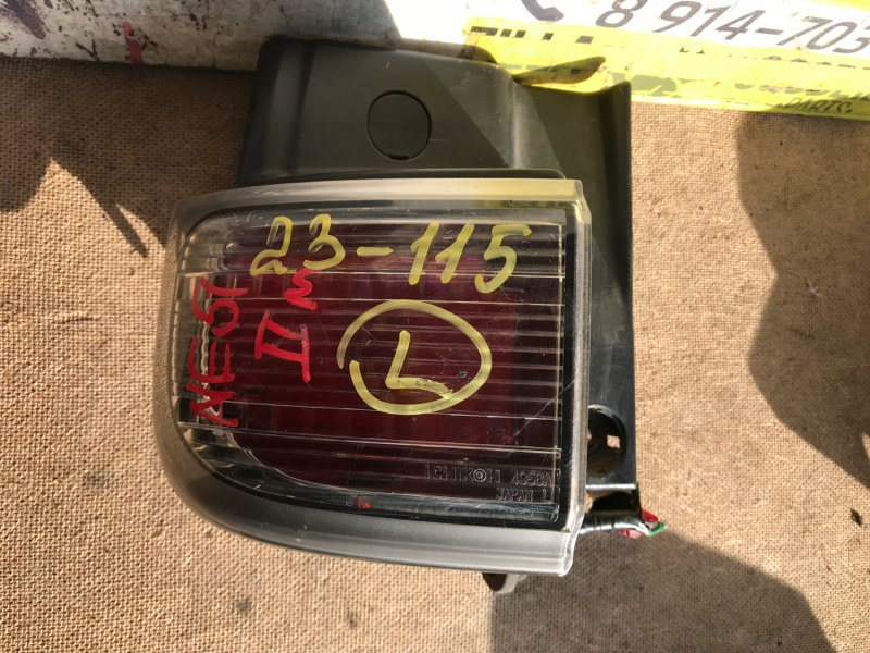 Стоп-сигнал Nissan Elgrand NE51 задний левый