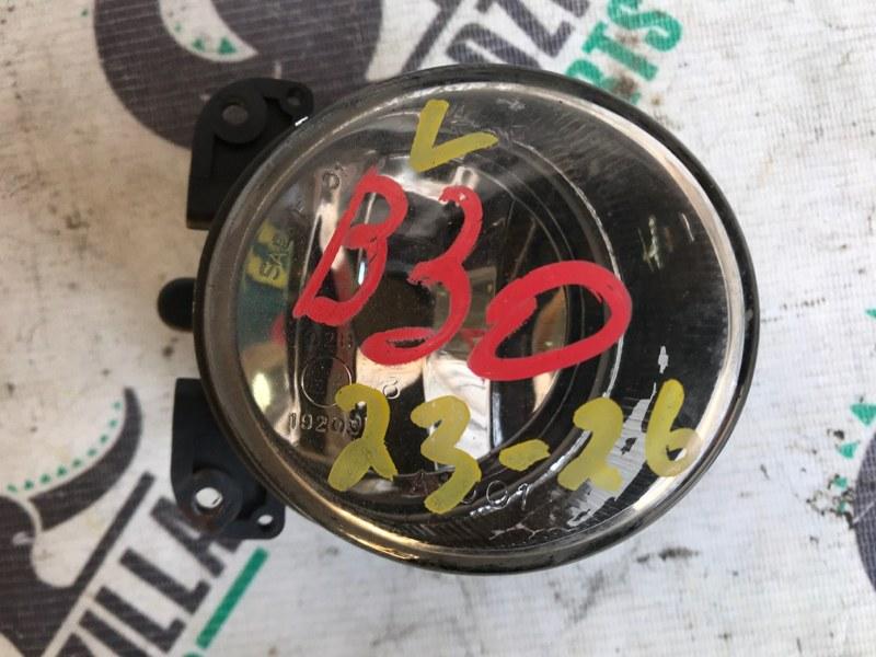 Туманка Nissan Lafesta B30 передняя левая