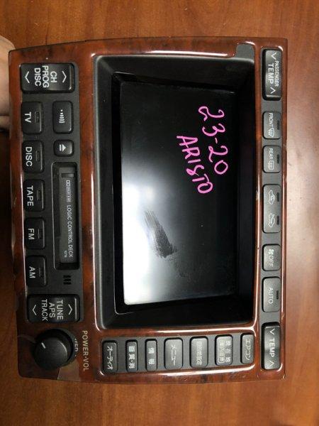 Монитор Toyota Aristo JZS160 передний
