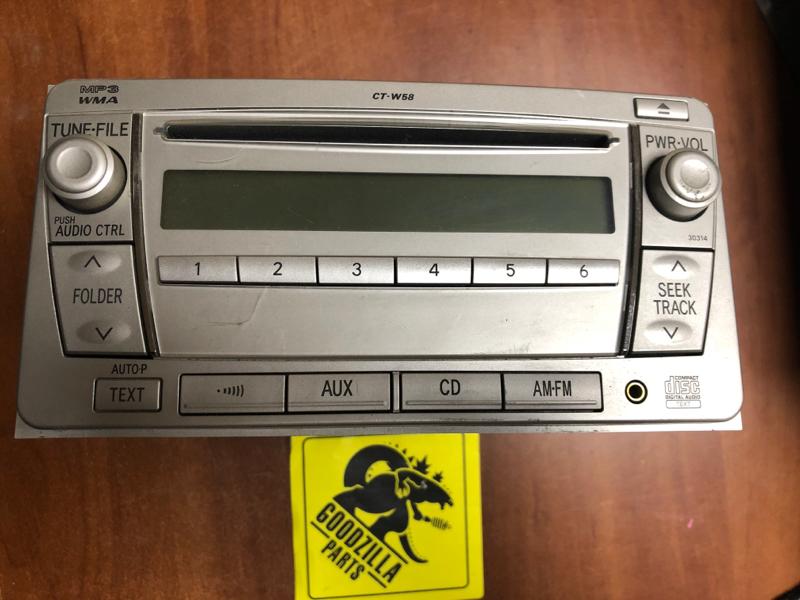 Магнитофон Toyota передний