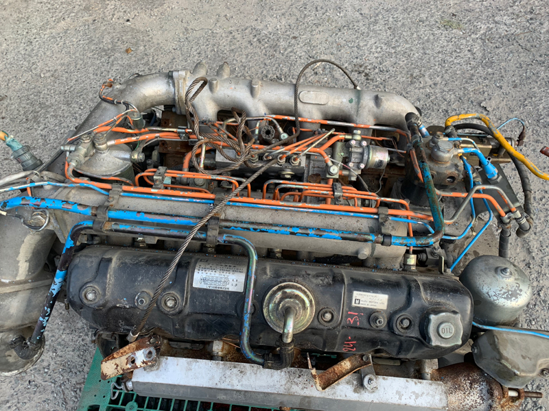 Двигатель Isuzu Giga 10PB1