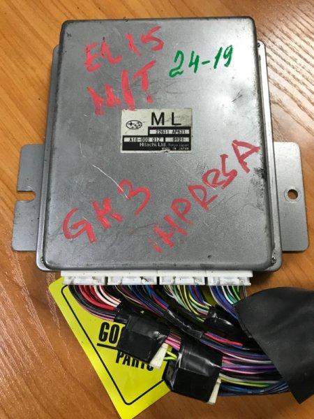 Блок управления efi Subaru Impreza GH3 EJ15