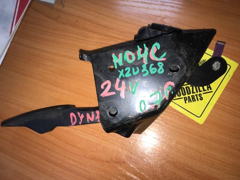 Педаль газа Toyota Dyna XZU368 N04C 2007 передняя