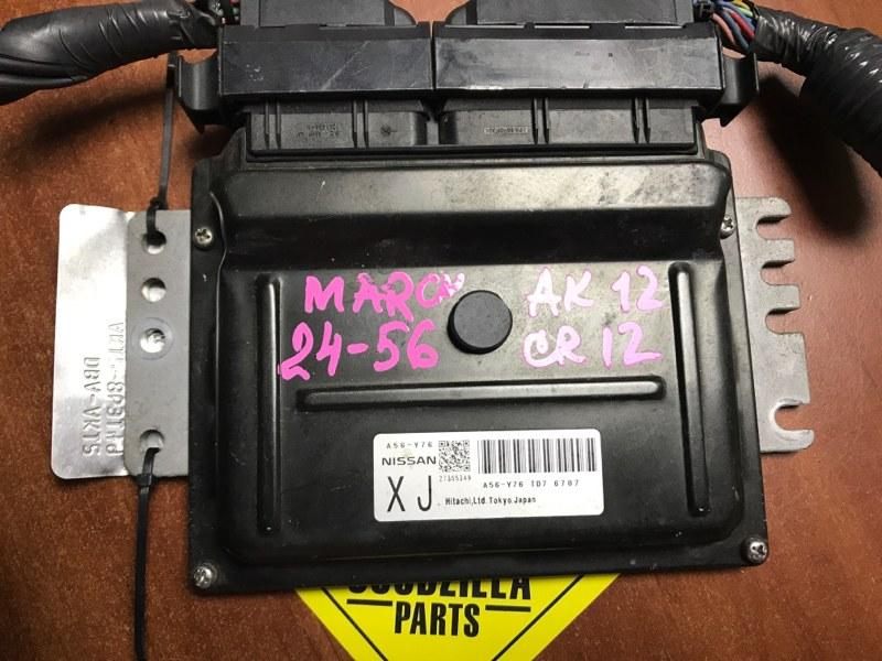 Блок управления efi Nissan March AK12 CR12