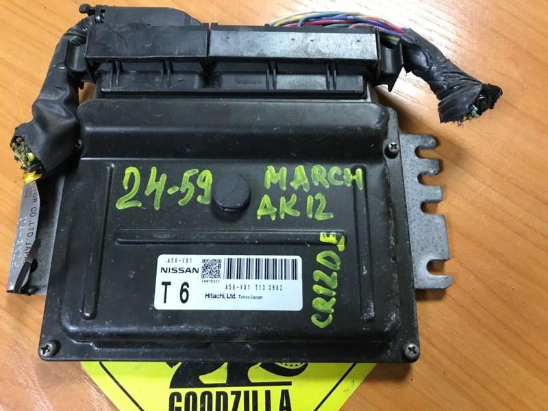 Блок управления efi Nissan March AK12 CR12DE 2003