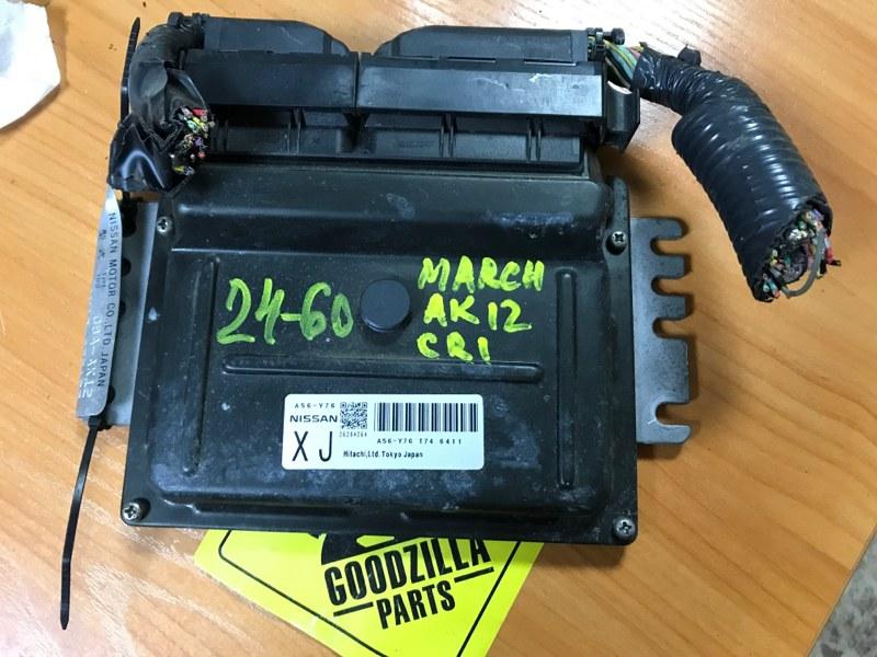 Блок управления efi Nissan March AK12 CR12 2003
